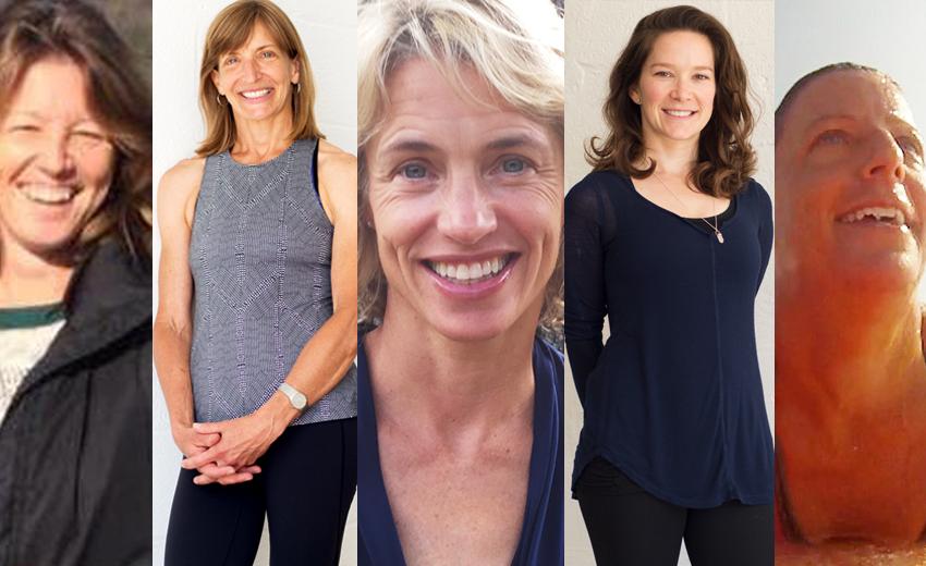 Aly Moore, Sabine Scholes, Kelli Block, Meg Donovan, Catherine McMahon